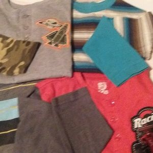 Other - Bundle of 4 boys size 5 shirts